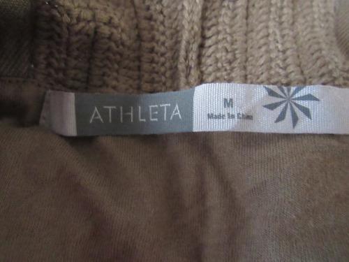 vestido tejido  mujer. marca athleta  100% algodón