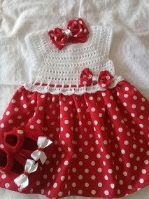 Vestido Tejido Para Bebe De 6 A 9 Meses 55mil Soberano