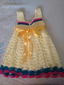 Vestido Tejido Para Niña Talla 2 Precioso 300 Mil