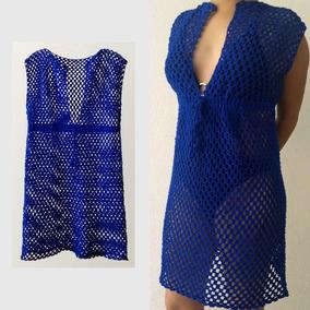 dd5a55213659 Vestido Tejido Playero (crochet)