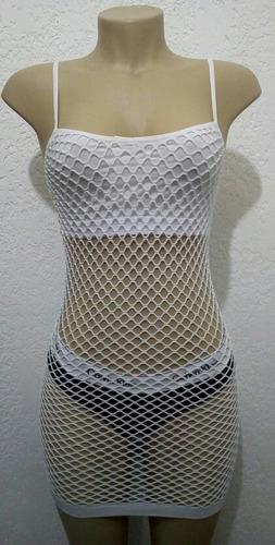vestido tela branco - preto lancamento amplificador,