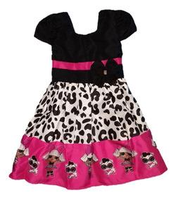 231b4a515bfe4e Vestido Temático Infantil Kit Com 10 Festa Tema Atacado