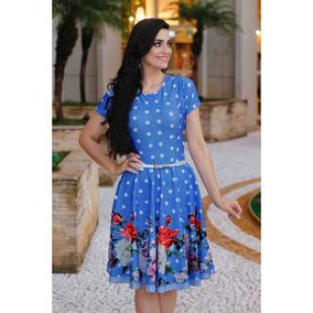 44a09bb64 Vestido Gode Circular no Mercado Livre Brasil