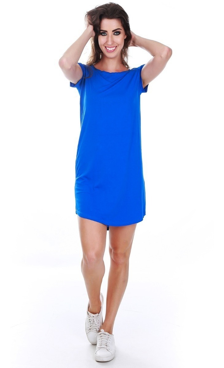 Vestido Tipo Camisa Vestido Camiseta Atacado 8pçs Promoçao