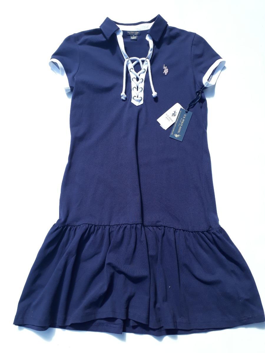 1fb0e6ce68e Vestido tipo chomba de mujer marca polo original cargando zoom jpg 900x1200  Vestido marca polo