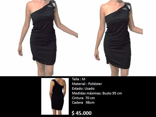 vestido tipo cóctel elegante fiesta negro