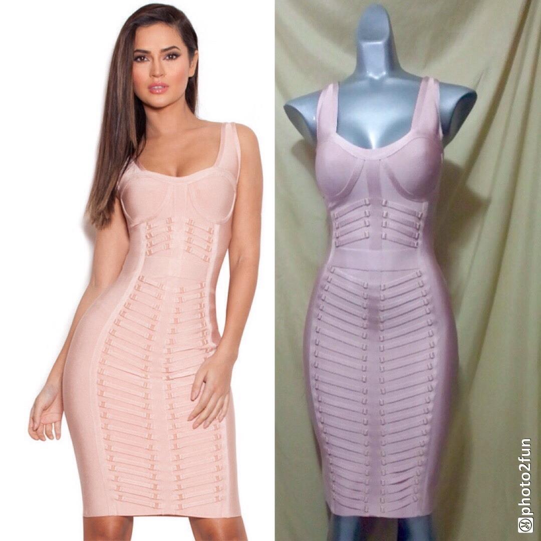 Moderno Vestidos De Dama De Rosa Y Naranja Foto - Colección de ...