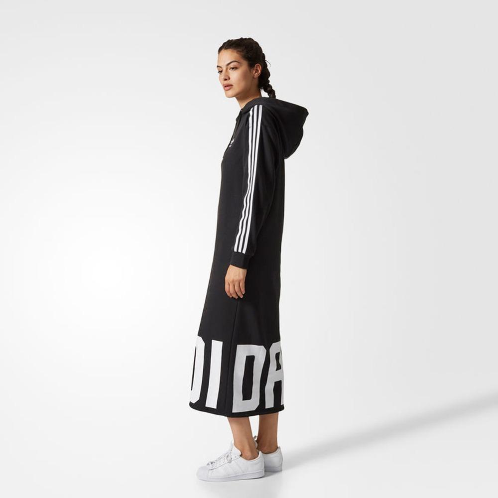 Vestido Hoodie Originals Tipo Adidas Cy7481 Mujer Sudadera qq7Tr