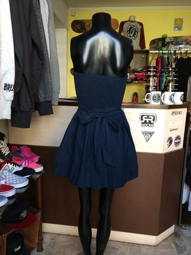 vestido tomara que caia  hollister