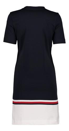 vestido - tommy hilfiger - ww0ww25203403 - azul mujer