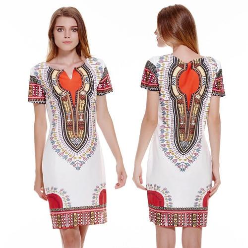 vestido tradicional dashiki
