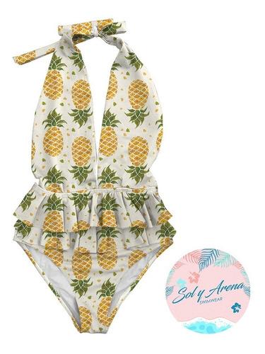 vestido traje de baño  enterizo boleros bikini unicolor estm