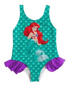 mejor sitio web 25b86 db196 Vestido Traje De Baño Sirenita Ariel Lady Bug Miraculous