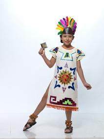 d9b96c535 Vestido Traje Tipico Azteca Regional Azteca Manta Dama Hombr