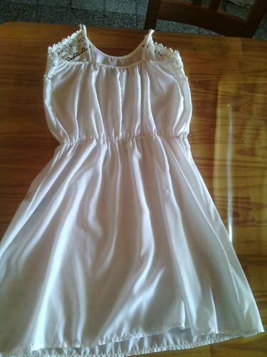 vestido tramps blanco