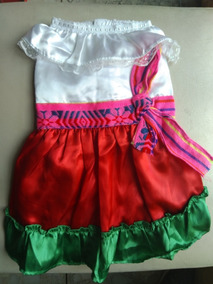Vestido Tricolor Perrita Talla 5 Fiesta Patria 15 Septiembre