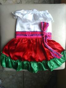 Vestido Tricolor Perrita Talla 6 Fiesta Patria 15 Septiembre