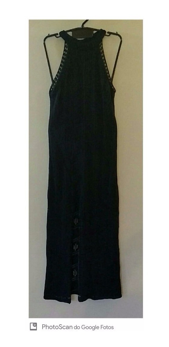 f2253ad52 vestido tricot longo feminino trico fenda lateral gola alta. Carregando zoom .