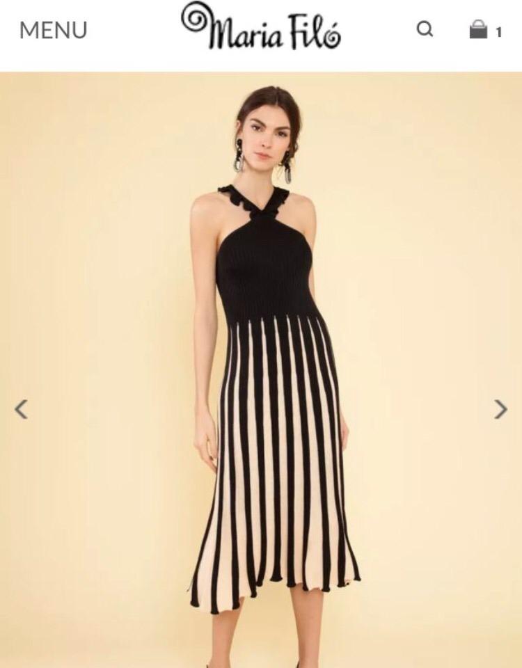 1656ad4cb vestido tricot maria filó. Carregando zoom.