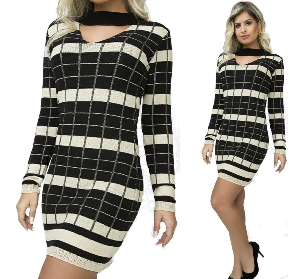 e1d09391bf vestido tricot roupas femininas promoção oferta comprar. Carregando zoom.