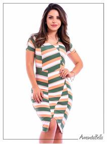e5552c955e Vestido Feminino De Malha Esporte no Mercado Livre Brasil