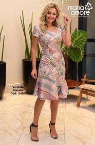 b8c0737413ff Lindo Vestido Da Marca Marisa - Calçados, Roupas e Bolsas com o Melhores  Preços no Mercado Livre Brasil