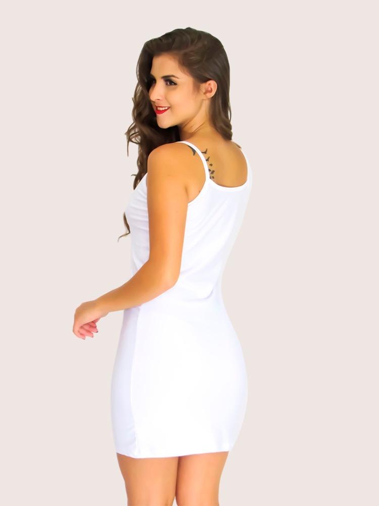 8b99520ca Vestido Tubinho Curto Sem Mangas Ref 020 - R$ 29,99 em Mercado Livre