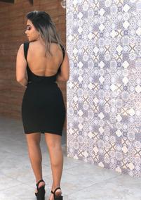 f6b9cd7d1896 Vestido Com Amara O no Mercado Livre Brasil