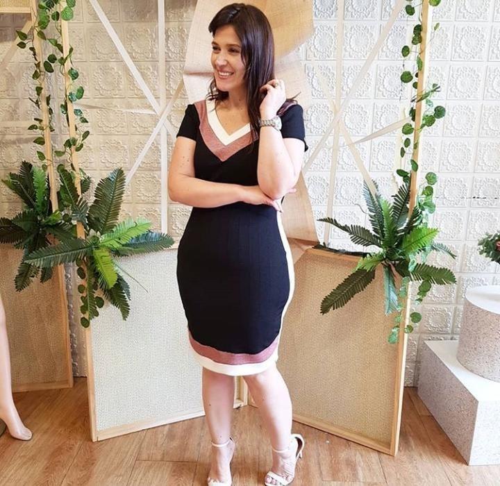 1b040a0b8 Vestido Tubinho Preto Gg - Luciana Pais - Moda Evangelica - R$ 220 ...