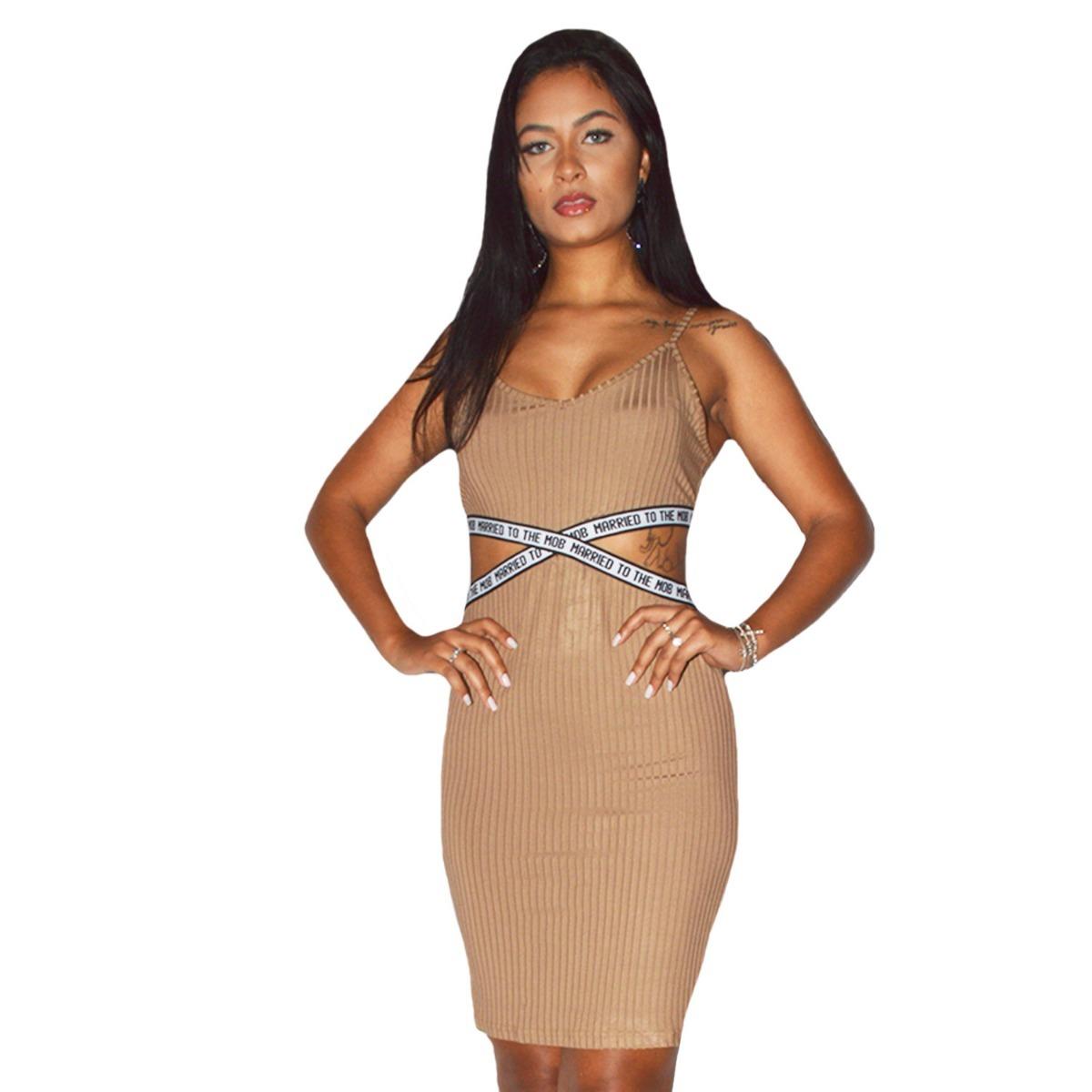 a66e0ccbf Vestido Tubinho Transpassado Em Suplex - R$ 49,90 em Mercado Livre