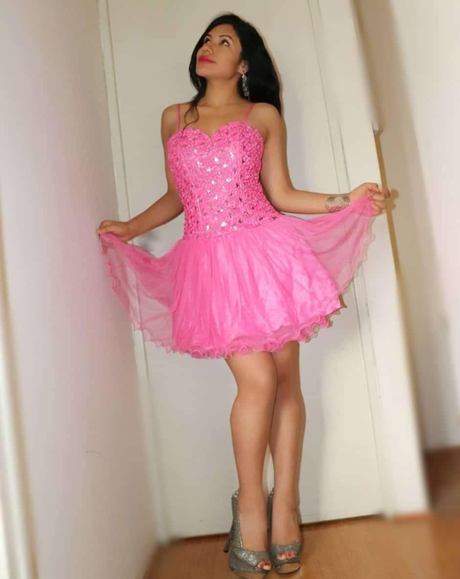Vestido Tul Tutu Dama Elegante Rosado Nuevo Oferta - S/ 149,00 en ...