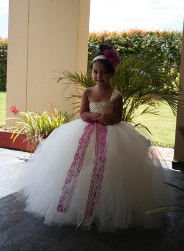 vestido tutu bautizo , primera comunión , pajecita