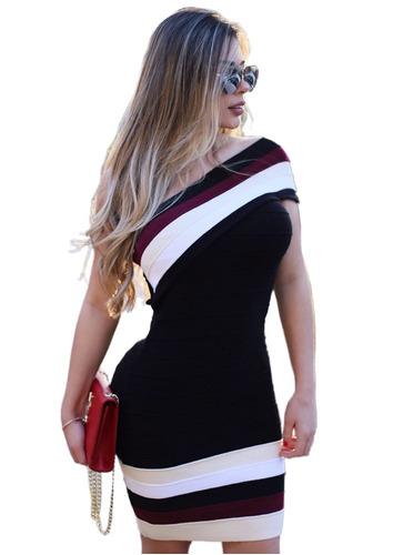 vestido um ombro só panicat lapis - blogueira balada festa