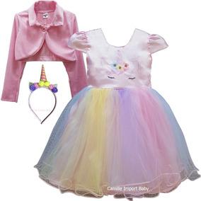 3667f7f21c Vestido Unicornio 15 Anos - Vestidos no Mercado Livre Brasil