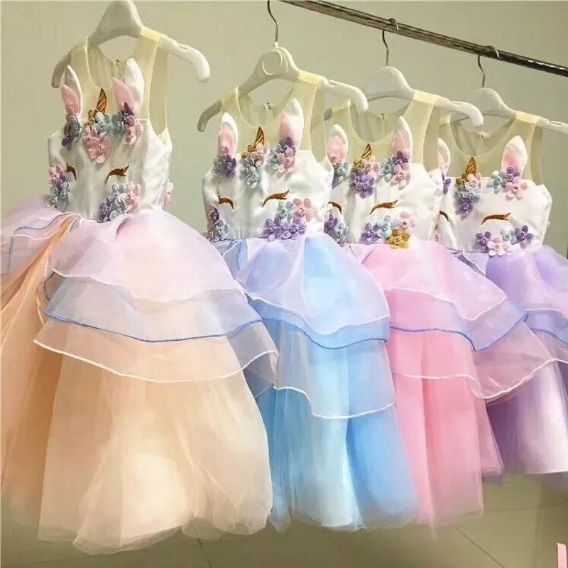 Vestido Unicornio Ni 241 A Envio Gratis 790 00 En Mercado