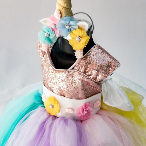 vestido unicornio princesa disfraz