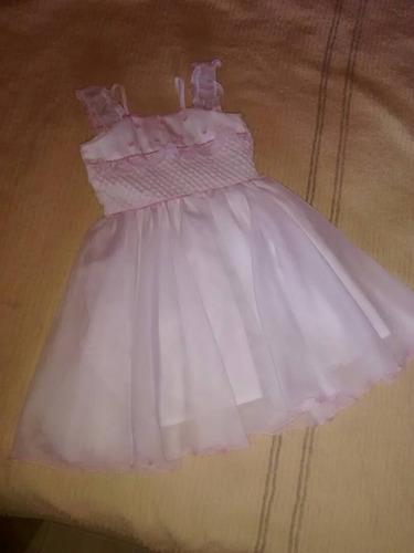 vestido usado para bautizo talla 3