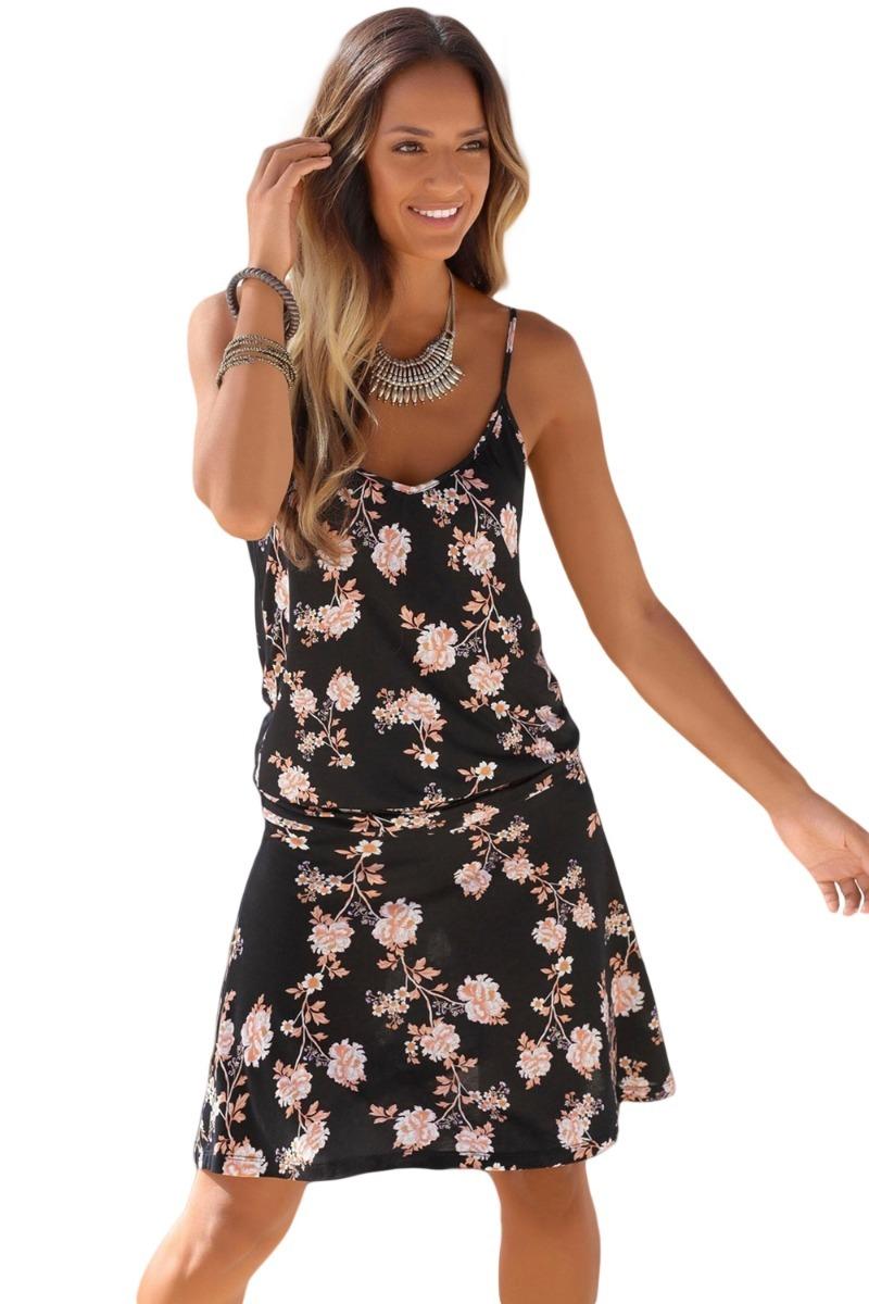 96b0950d30 vestido verano corto a tirantes estampado floral 220709. Cargando zoom.