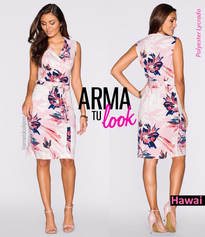 08ef2c913 vestido verano hawai - fiesta oficina coctel arma tu look. Cargando zoom.