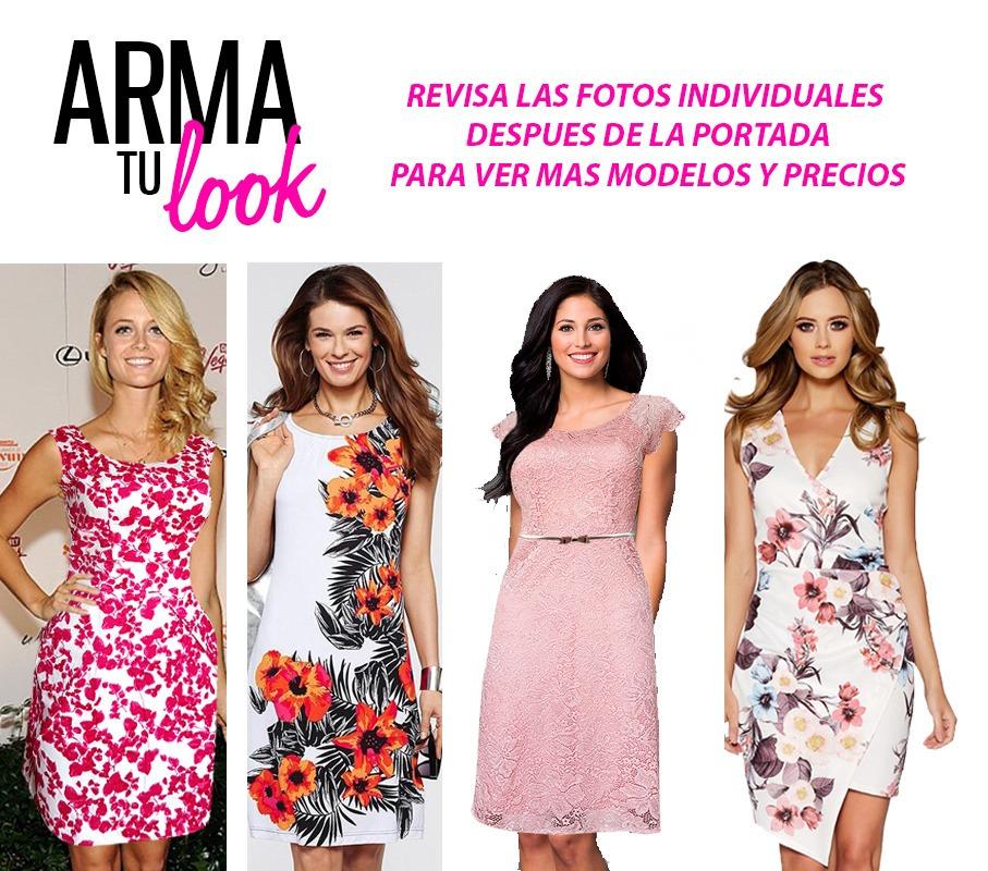 Único Vestido De Cóctel De Charnela Friso - Ideas de Vestidos de ...