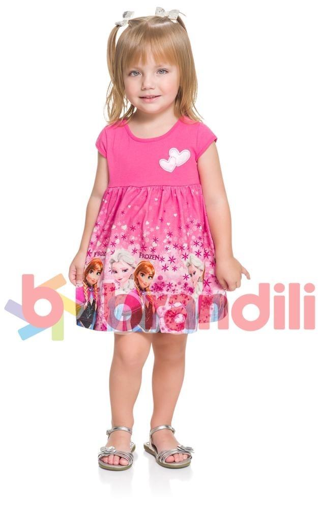 386b7ecbee Vestido Verao Disney Frozen Brandili 1 3 23199 - R  59