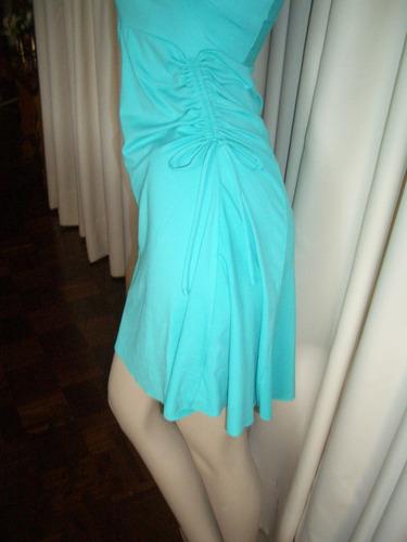 vestido verde esmeralda curto