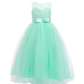 Vestido Verde Menta Nina Ropa Bolsas Y Calzado De Mujer