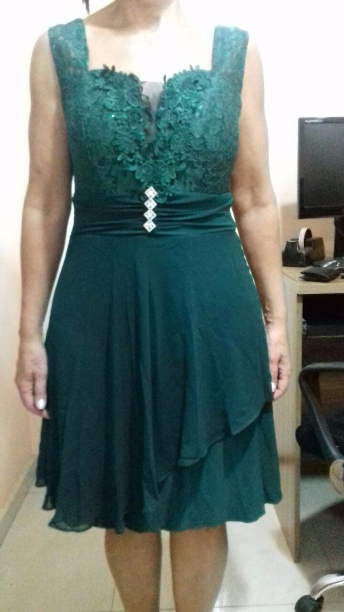 Vestido verde musgo como combinar