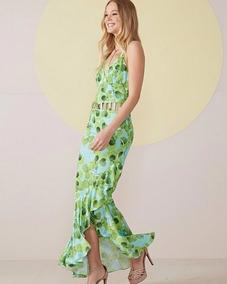 Vestido Verde Para Boda O Evento Jardin