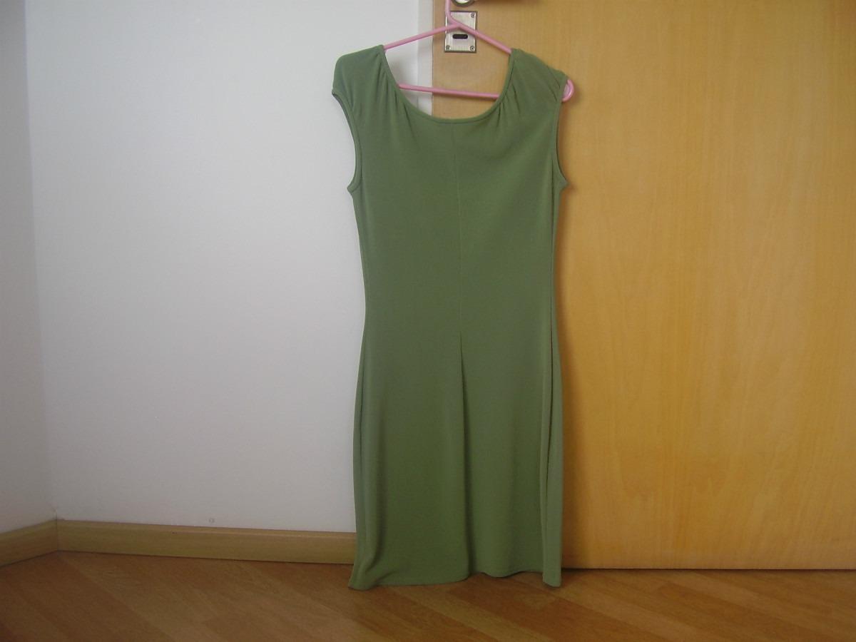 8253b93c67 Vestido Verde Sin Mangas Importado De Usa! -   499