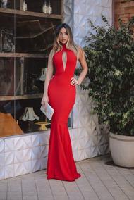 0db02b05b Vestido Vermelho Sangue - Vestidos Femeninos com o Melhores Preços no  Mercado Livre Brasil