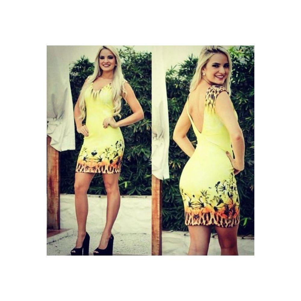 457ca470a Vestido Verão Dimy Ves04307 - R$ 237,30 em Mercado Livre