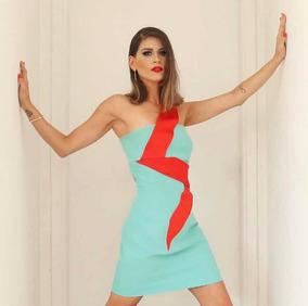 5bd6f3a349 Vestido Bandage Bandagem Verde Água (claro) - Vestidos Femininas no ...