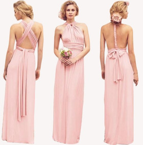 Longo Para Dress Madrinhas Versátil Infinity Vestido Festa lJ3FT1Kc